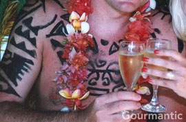 Tahitian Wedding Moorea - Champagne... a traditional Tahitian drink