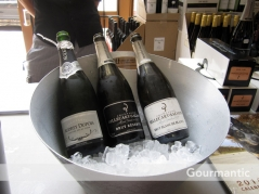 Ultimo Wine Centre Champagne tasting - Audrey Dupois, Brillecart Salmon Brut Reserve and Blanc de Blanc, UWC