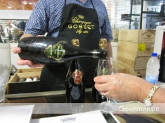 Ultimo Wine Centre Champagne tasting - Champagne Gosset 1999, UWC