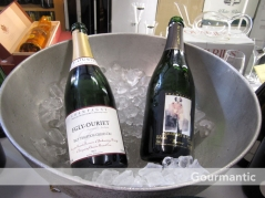 Ultimo Wine Centre Champagne tasting - Egly Ouriet NV and Agarapart NV Blanc de Blanc, UWC