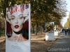 Vogue Covers Exhibition on Champs Elysees Paris