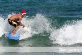 Bondi Beach Christmas Day