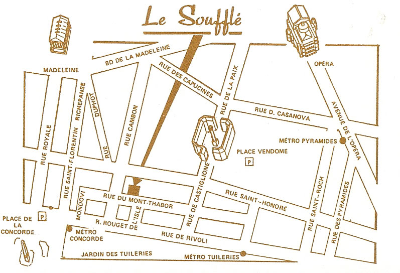 Le Soufflé Map