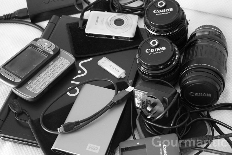 Digital photography paraphernalia