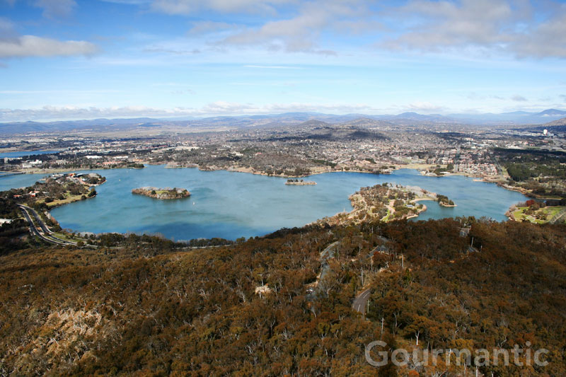 Black Mountain Tower in Canberra