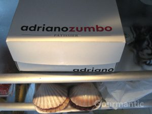 Zumbo and Scallops in fridge