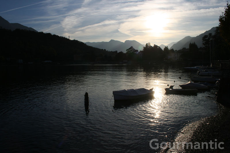 Sunset in Lenno, Lake Como