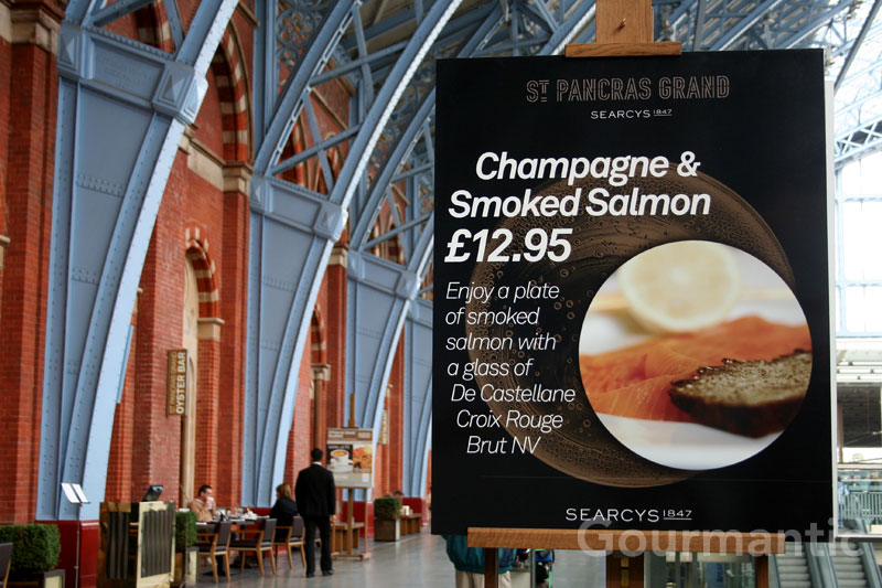 Champagne and Smoked Salmon