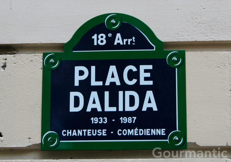 Place Dalida Montmartre