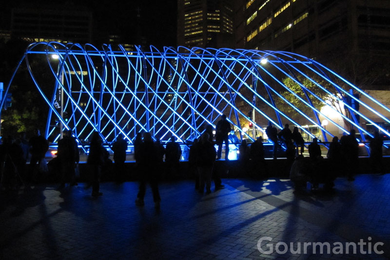 Vivid Sydney - Macquarie Visions