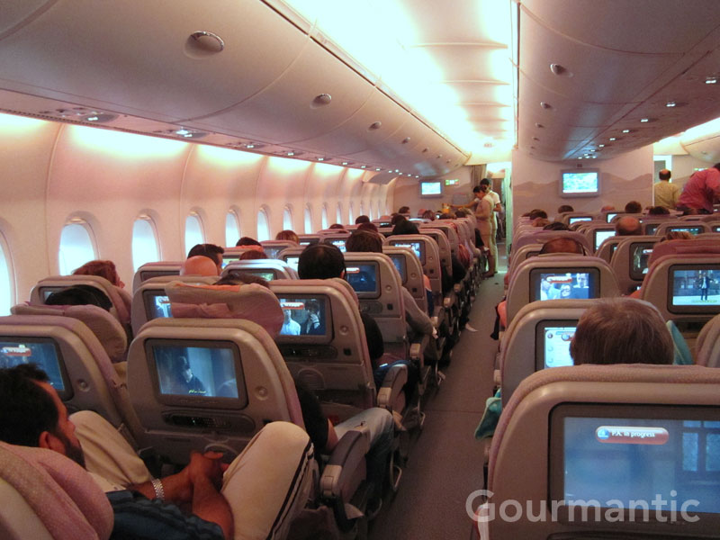 Flight Review Emirates A380