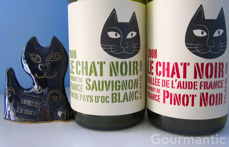 Le chat noir wine
