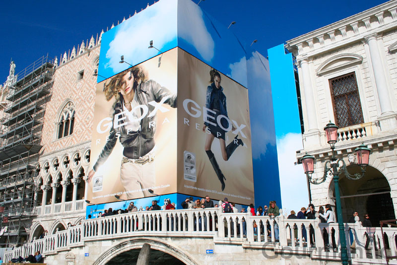 Billboards in Venice
