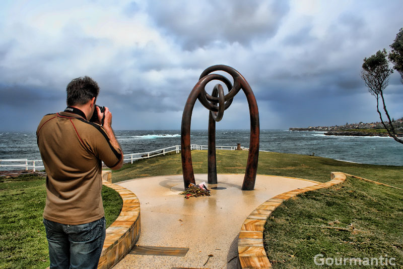 Bali Memorial Sculpture at Coogee Beach