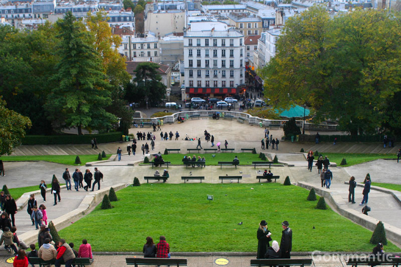 View from Sacre-Coeur - Paris