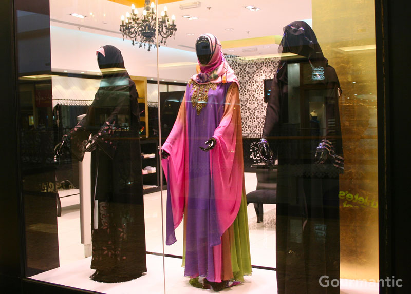 Traditional Clothing at Mall of the Emirates