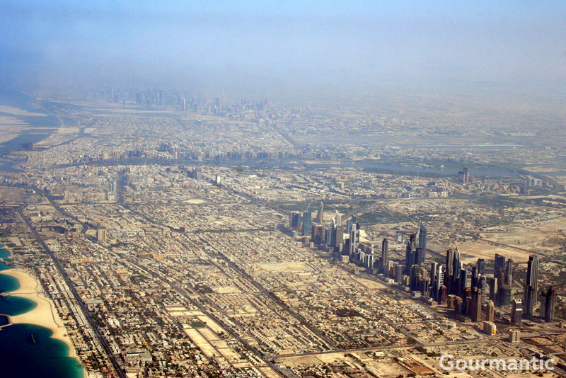 Aerial Views of Dubai