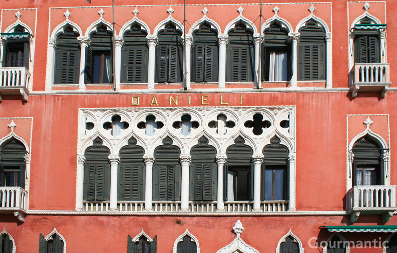 The Tourist At Hotel Danieli In Venice
