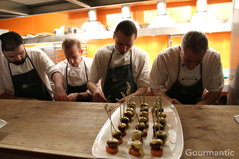Stix Catering at Greenhouse by Joost