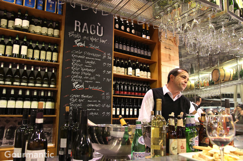 Ragu Pasta and Wine Bar Westfield Sydney