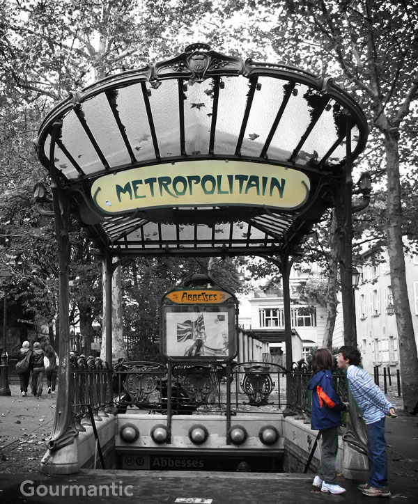 Abbesses Paris Metro station