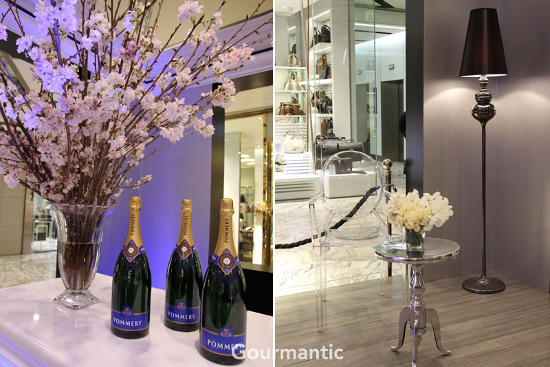 Champagne Cube by Pommery