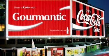 Share a Coke with Gourmantic