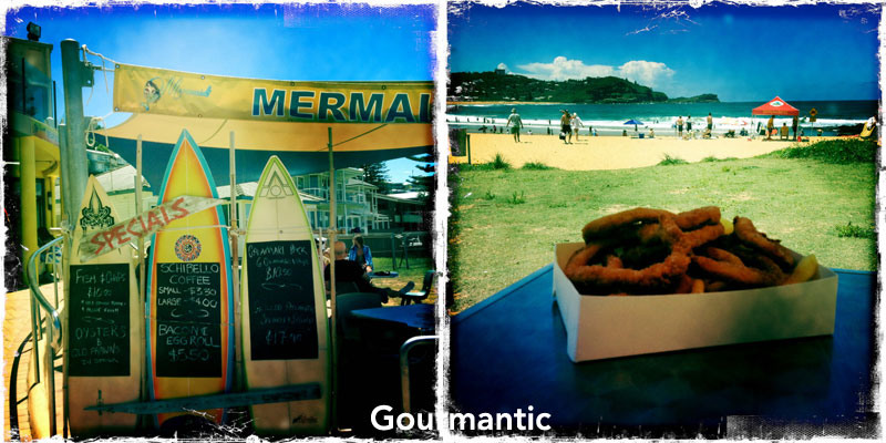 Mermaids Seafood on Avoca Beach