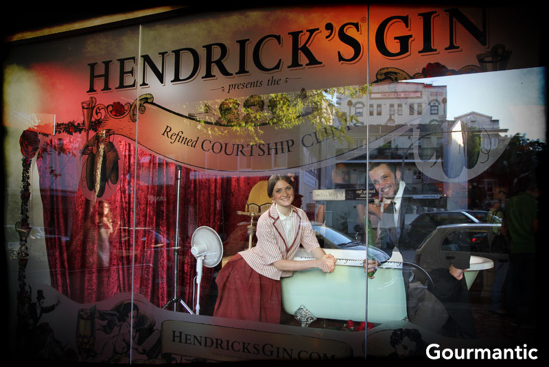 Hendrick's Gin Refined Courtship Clinic