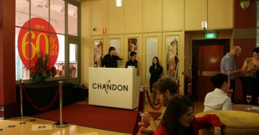 Chandon Pop Up Bar