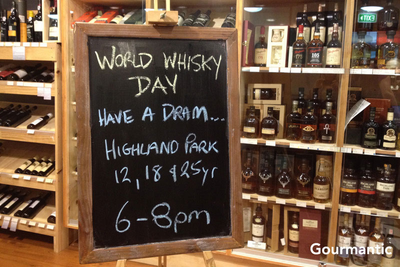 World Whisky Day with Highland Park