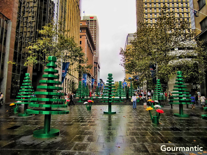 LEGO Forest at Martin Place