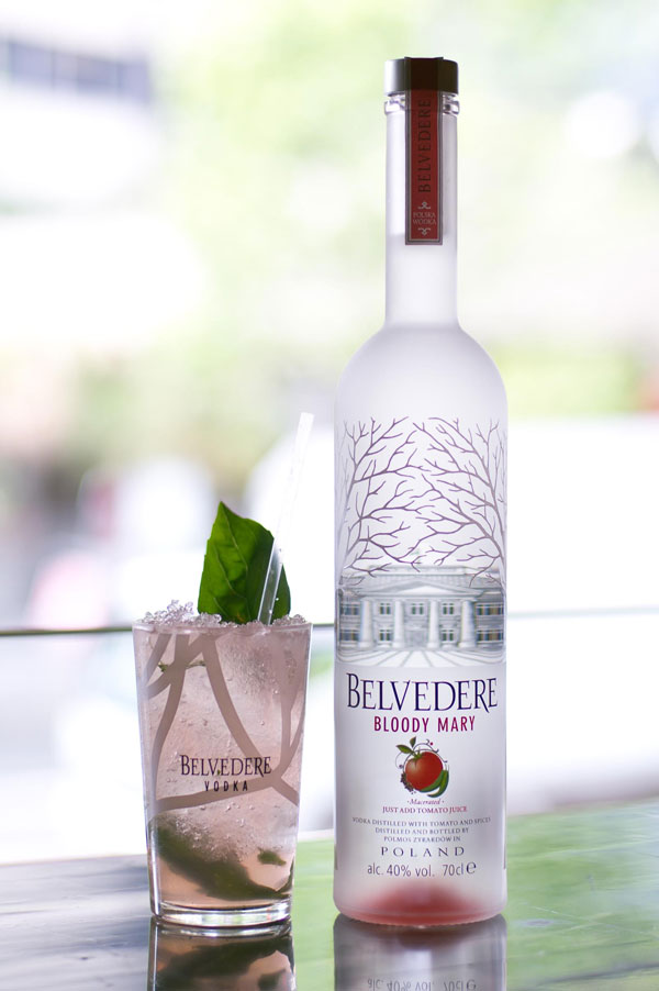Belvedere Bloody Mary Cocktails