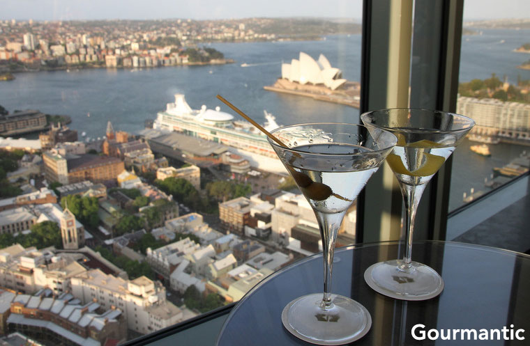 Blu Bar on 36, Shangri-la Sydney
