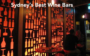 Sydney's Best Wine Bars