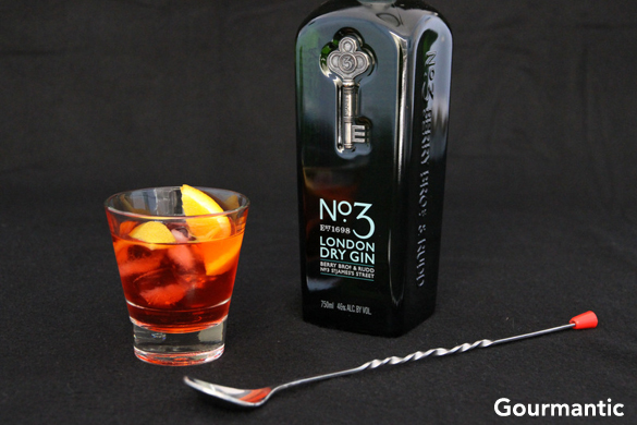 london dry gin no 3