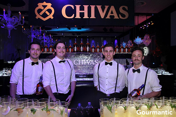 GQ Men of the Year Awards 2013 with Chivas