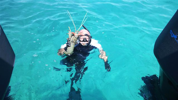 Spearfishing: The Great Barrier Reef
