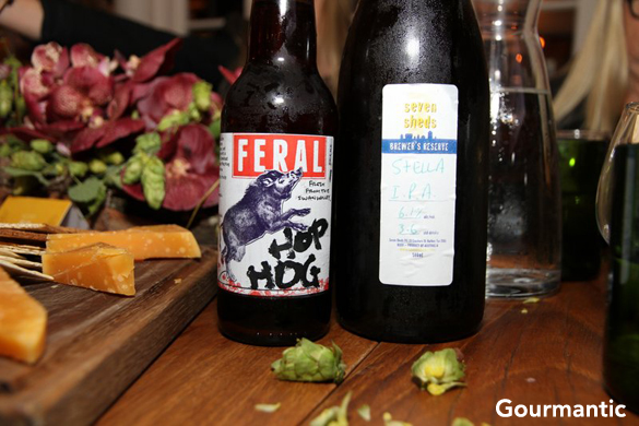 Hop Harvest Dinner at Chiswick