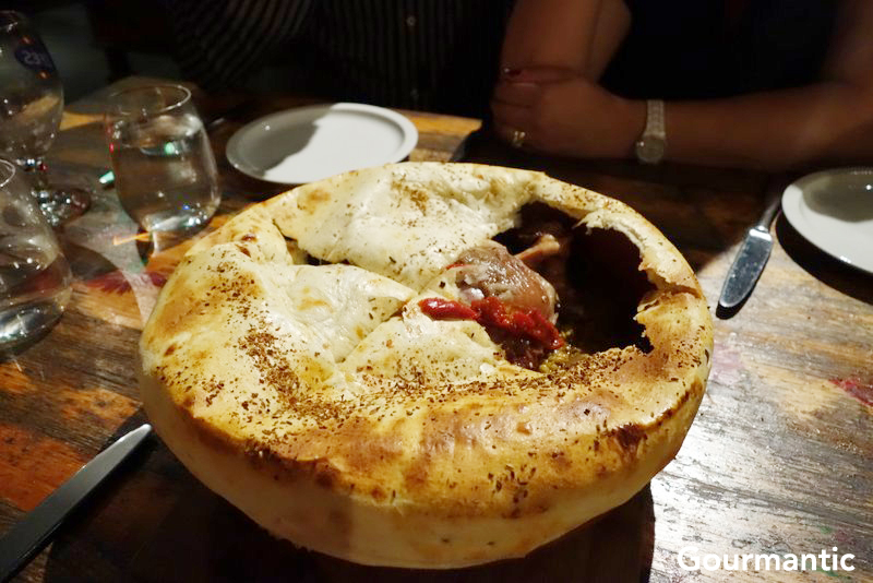 Flinders Island Whole Lamb Shoulder Pie