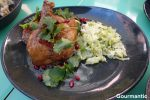 Sticky Chicken with Fennel Slaw