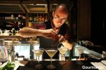 Daniel Molnar Preparing Hotel Georgia Cocktail