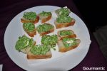 Taste The Mediterranean: Baby peas with goat's cheese and mint