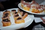 Taste The Mediterranean: Pate de foie de canard with fig paste / Prosciutto di parma and Reggiano