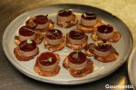 Chicken liver pâté toasts | port and native pepperberry  jelly