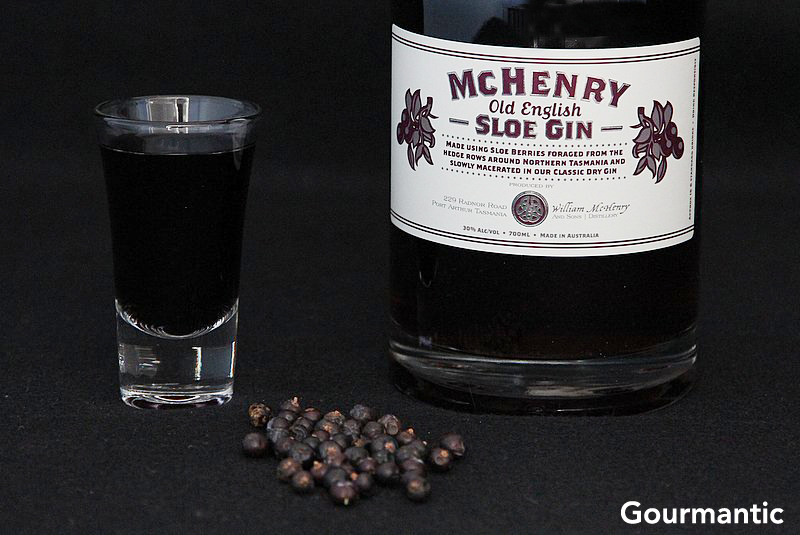 McHenry Old English Style Sloe Gin