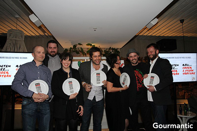 Time Out Sydney Food Awards Winners 2014