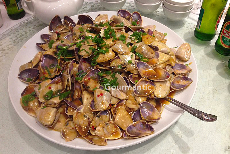 Pippies In Xo Sauce Golden Century Restaurant Gourmantic