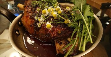 Milly Hill Lamb Shoulder Cooked in Chamomile
