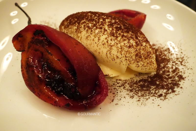 Vanilla Ice Cream, Tamarillo